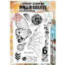AALL and Create A4 Stamp  #367 Take Flight by Olga Heldwein